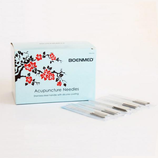 إبرة الوخز بالإبر غير القابل للصدأ ، 500 قطعة لكل صندوق