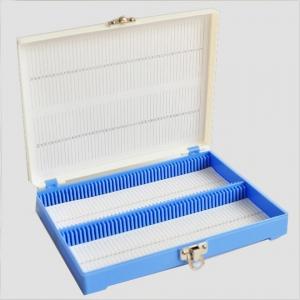 صندوق تخزين شرائح ميكروسكوب 100 قطعة