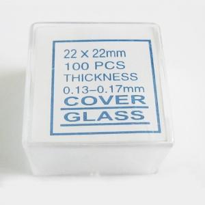المجهر غطاء زجاجي