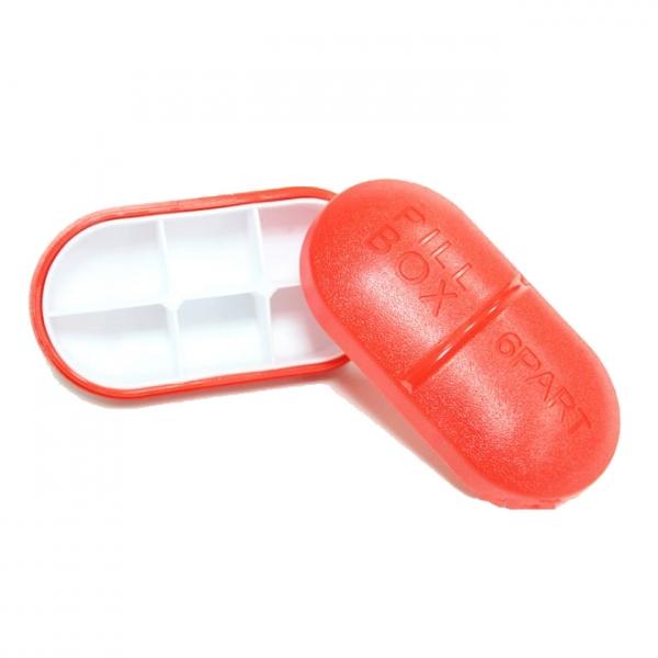 علبة حبوب الدواء ب 4 مقصورة