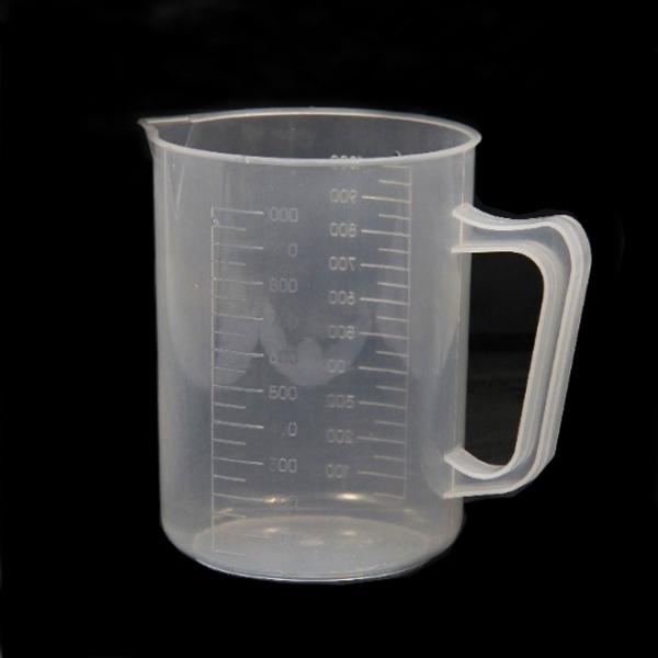 دورق قياس بلاستيك بمقبض