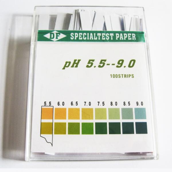 ورقة المؤشر الخاص 100 قطعة التي بلاستيك شرائط / مربع