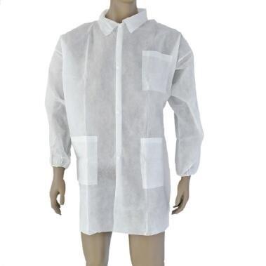 معطف المختبر المتاح